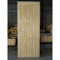Двери деревянные массив сосны сращенные (без сучков)