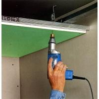 ГИпсокартон и комплектующие, устройство потолков из гкл  9,5мм. 12,5мм.