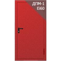 Противопожарная металлическая глухая дверь