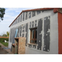 Панели для утепления фасада дома Ruspanel