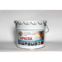 Фасадная краска ВД-АК 102, 5л/7.5кг BEZ
