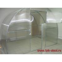 Каркас теплицы сборный под п/к ТМК, оцинкованная труба, 4х3х2,1