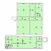 Продам нежилые помещения по ул. Пермякова 43А, площадь 270 кв.м.
