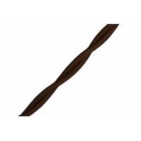 Витой ретро провод 2*2,5 мм, коричневый BIRONI В1-425-72