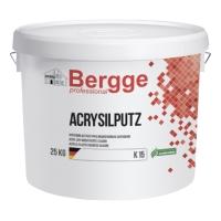 Акриловая штукатурка модифицированная силиконом BERGGE ACRYSILPUTZ 25кг