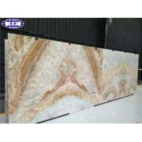 Book Matched Cloud Sunset Marble Slabs hangmao HMI-MC026