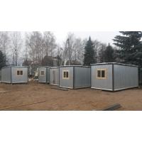 Бытовка вагончик, металл (блок-контейнер) 6х2.4м