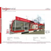 Остановки, киоски и др. изделия из металла Begen Metal Собственное производство