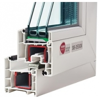 Пластиковые окна от производителя. Rehau Sib-design