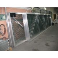 Ворота откатные алюминиевые для строительных площадок ТАММЕТ 6 и 8 метров