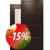 """АКЦИЯ """"-15% на ВСЕ итальянские двери со склада и ручки Oliv Фабрика 3ELLE"""