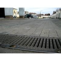 Лотки бетонные с чугунными решетками Гидролика Gidrolica Лоток