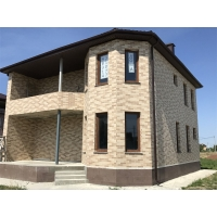 Фасад из мраморной крошки (А.М.К)