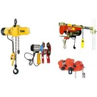 Грузоподъемное оборудование: тали, лебедки, тельфера, кран-балки