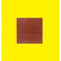 Плитка тротуарная 333*333*25 полимер-песчаная