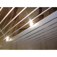 Реечный потолок Албес