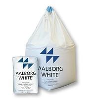 Цемент белый М 700 (Дания) AALBORG WHITE мешок 25 кг, скидки от тонны