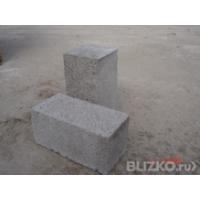 Полнотелый бетонный фундаментный блок 400*200*200