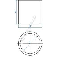 Кольцо железобетонное КС 10.3 с пазом