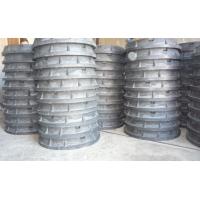Люк тяжелого типа, канализационный полимерпесчаный ТД РГС Тяжелый, легкий