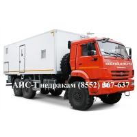 Станция гидродинамических исследований скважин СГИ ЛСГ-10 КАМАЗ-