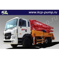 Автобетононасос KCP Heavy Industries CO 28ZX120 на шасси HYUNDAI