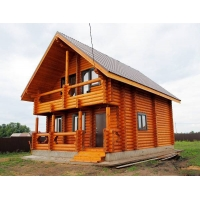 Двухэтажный дом в лаишевском районе с баней!