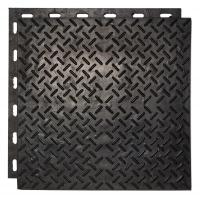Резиновые полы для гаража, плитка из резины Резиплит Зерно