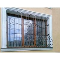 Защитные решетки на окна и двери, изготовление и монтаж