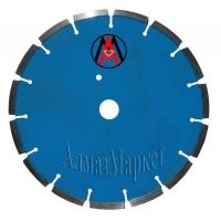 Алмазный отрезной сегментный круг  400х2,2