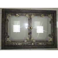Дверца каминная декорированная PSteklo
