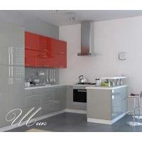Кухня «Шик» фасад МДФ покраска Гармония-Мебель цена за п.м.