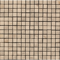 Мозаика из натурального мрамора Bianco Carrara чип 10*10 мм