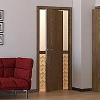 Двери с уникальным поворотным механизмом