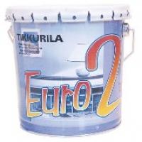 Водоэмульсионная краска Евро 2(EURO 2)  9 л Tikkurila