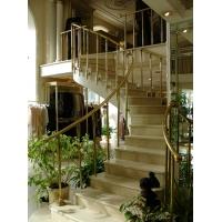 лестницы, перила, ограждения из латуни и нержавейки