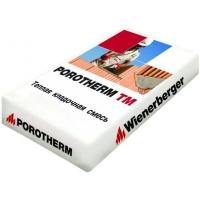 Тёплый кладочный раствор Porotherm TM  с перлитом ПОРОТЕРМ