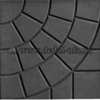 Тротуарная плитка Колодец (350x350x50), производитель Дедал