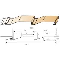 Сайдинг металлический Металл Профиль Корабельная доска