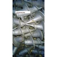 Литые наконечники на 57 трубу для столбов ограждения  ОВ 00520
