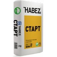 Штукатурка гипсовая «стартовая» Habez-Gips