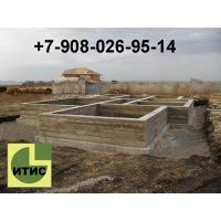 Фундамент, бетонные работы. Септик ИТИС