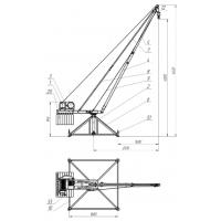 Строительные краны типа «Пионер» и Кран в окно «Умелец»  Пионер, Умелец