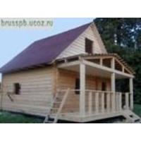 Дом из бруса 100х150  размером 6х6+2 (веранда) ООО Брус