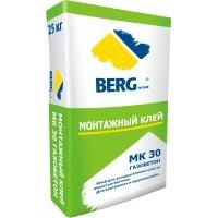 Клей монтажный Berghome МК30 газобетон