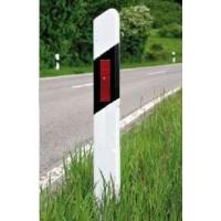 Столбик дорожный сигнальный пластиковый ГОСТ Р 50970, 1500 мм