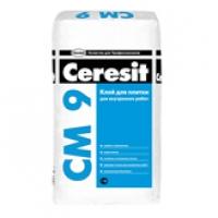Клей для плитки Ceresit СМ 9 (25 кг)