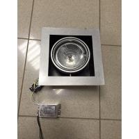Декоративный светильник с трансформатором под галогенновые лампы