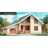 Проект дома из несъемной опалубки 51-38 Вертикаль 51-38