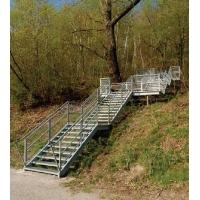 Лестничные ступени из оцинкованной стали любых типоразмеров  (прессованные и сварные)